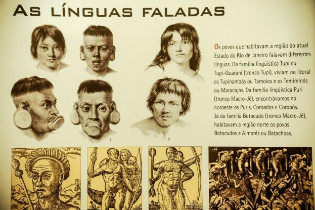 Exposição O Rio de Janeiro continua Índio, no Antigo Palácio da Justiça, conta a história e processos judiciais envolvendo a utilização de terras indígenas no século XIX no estado (Fernando Frazão/Agência Brasil)
