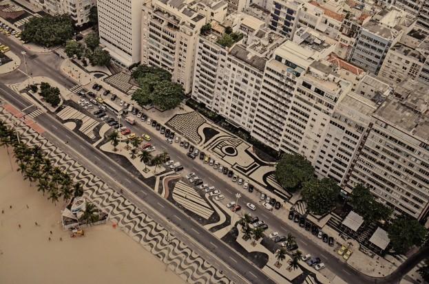 Calçadão da Praia de Copacabana