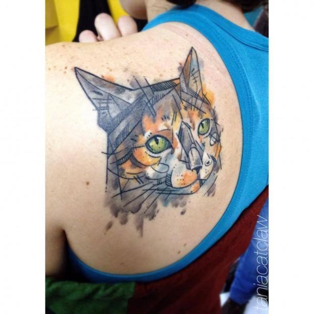 (Imagem: Reprodução Facebook Tânia Catlaw tattoo)