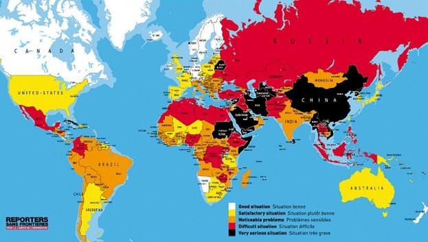 mapa-liberdade-de-imprensa-reporters-sans-frontieres