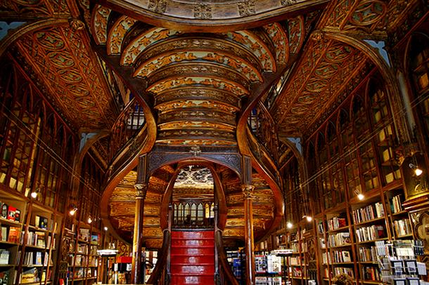 Librería Livraria Lello