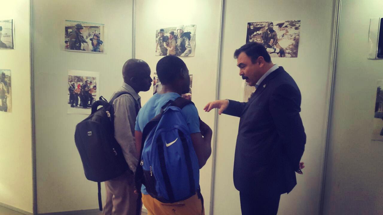 (Imagem: Divulgação Embaixada Palestina em Maputo)
