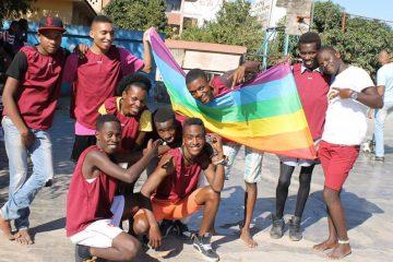 LGBT em parada gay Moçambique