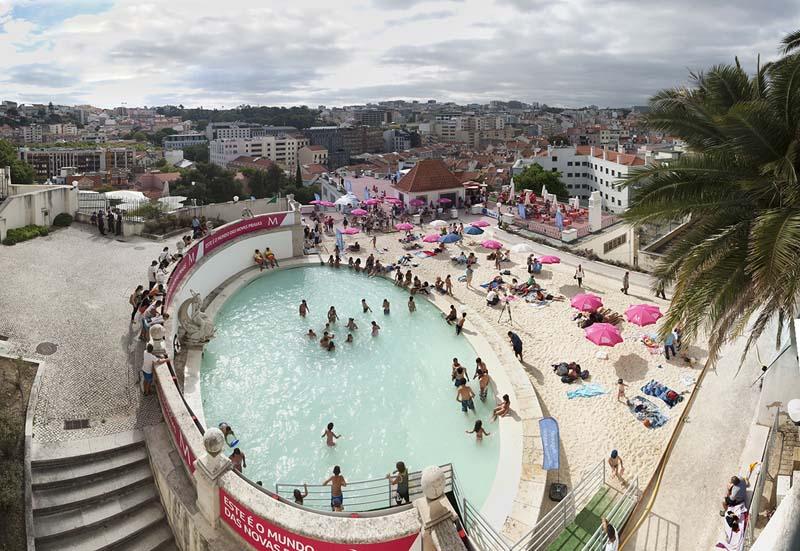 jardim do torel lisboa mapa Lisboa mergulha na onda europeia das praias urbanas | Conexão Lusófona jardim do torel lisboa mapa