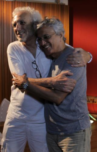 André Luiz e Caetano Veloso