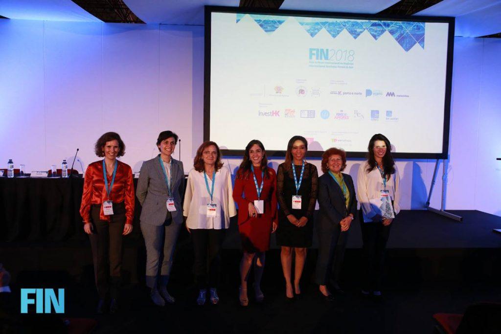 Oradoras do Painel sobre Empreendedorismo Feminino