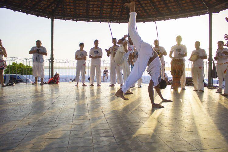 Hungu é essencial na capoeira