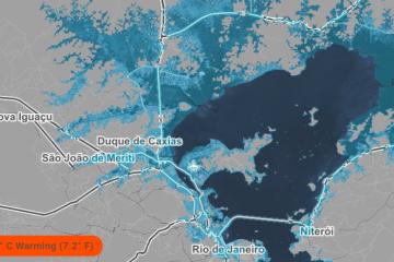 rio de janeiro aquecimento global