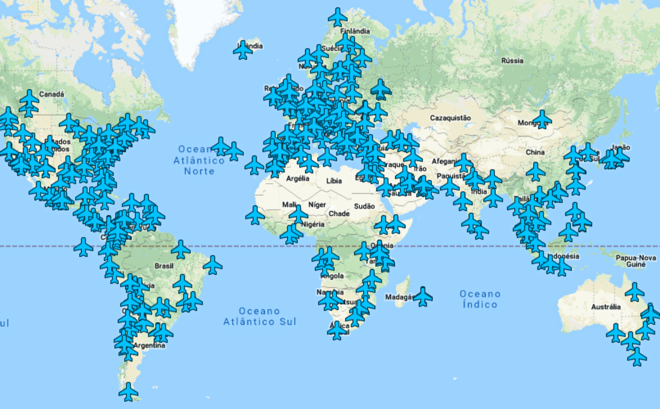 Ja Existe Um Mapa Que Reune As Senhas De Wi Fi Dos Aeroportos Mundiais