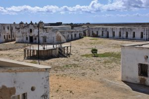 fortaleza de são sebastião ilha de moçambique interno