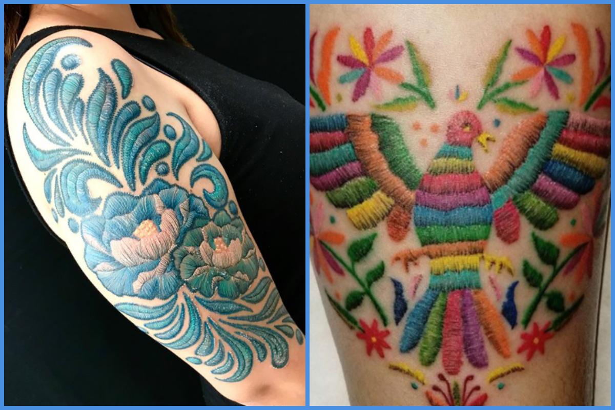 Tudo Sobre As Tatuagens Efeito Bordado A Nova Tendência Que