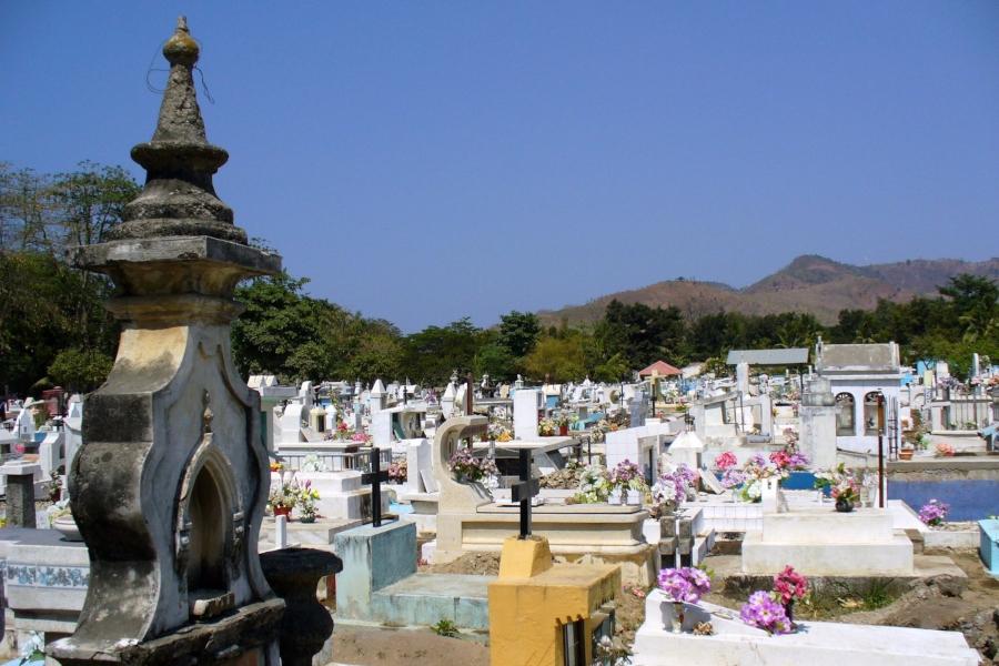 timor leste cemiterio santa cru